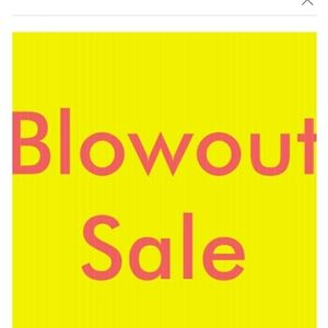 Other - Blow out sale 15.00 and under items only..